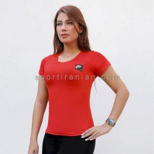 تیشرت ورزشی زنانه یقه گرد نایک NIKE کد 1557