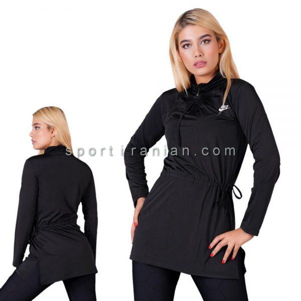 لباس ورزشی آستین بلند زنانه نایک NIKE کد 1208
