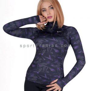 لباس ورزشی آستین بلند زنانه نایک NIKE کد 1212