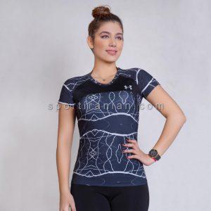 تیشرت ورزشی زنانه یقه گرد آندر آرمور UNDER ARMOUR کد 1567
