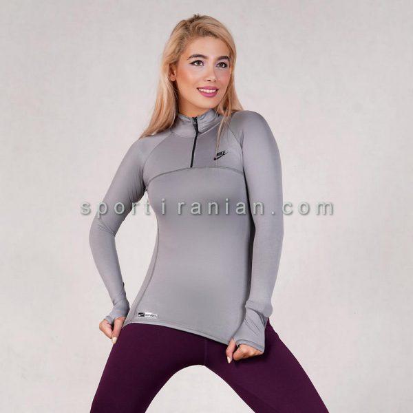 لباس ورزشی آستین بلند زنانه نایک NIKE کد 1202
