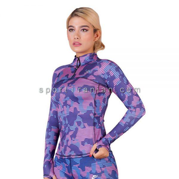 لباس ورزشی آستین بلند زنانه نایک NIKE کد 1206