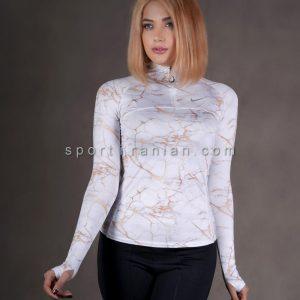 لباس ورزشی آستین بلند زنانه نایک NIKE کد 1216