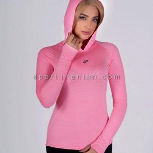 لباس ورزشی آستین بلند زنانه نایک NIKE کد 1218